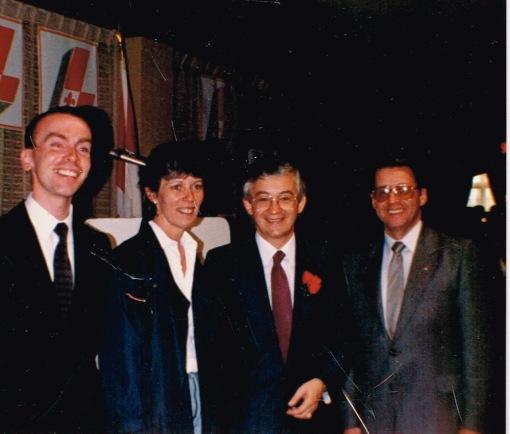 Première équipe de comté, juin 1985