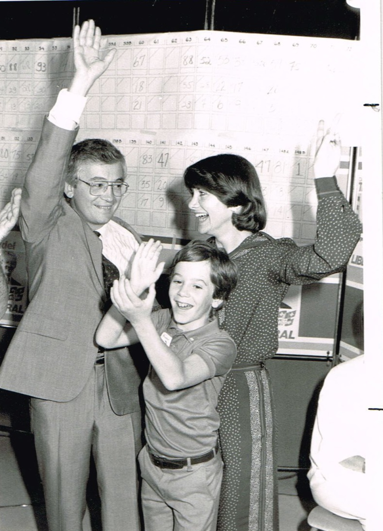 3 juin 1985 avec MF et Eric