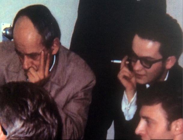 Au PLQ avec René Levesque, octobre 1966