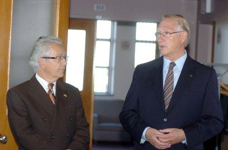 Avec Gérald Tremblay, 2007