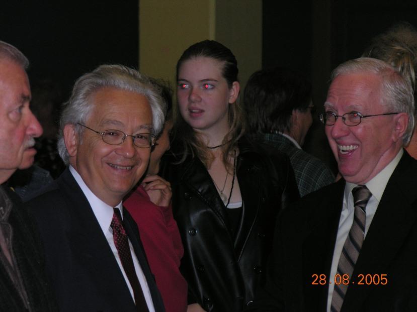 Avec Paul Beaupré_lancement de campagne 2005