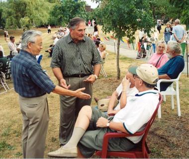 Campagne électorale 2001