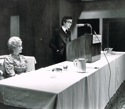 Conférencier à l'ASTED, 1977