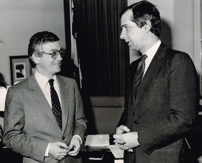 Daniel Johnson mai 1985