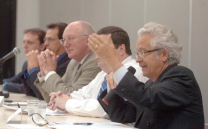 Débat des candidats, IDS 2009