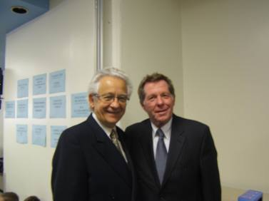 Avec Rodger Brulotte, 2010