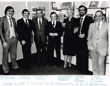 Direction du CEC 1980