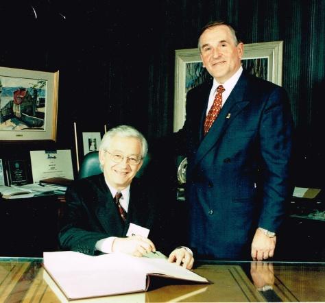 Georges Bossé 2001
