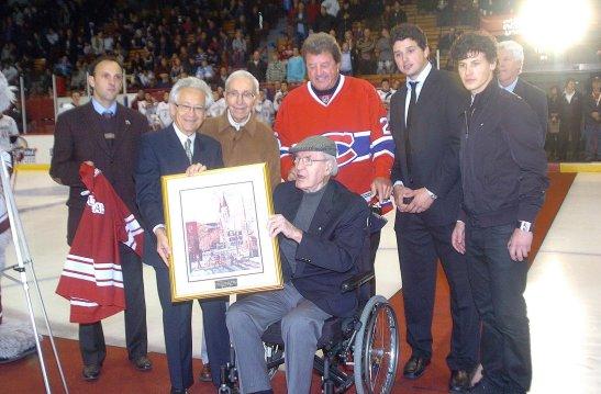 Soirée hommage Butch Bouchard, 2008