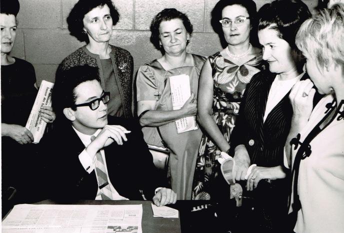 Journaliste à l'Écho de Vaudreuil-Soulanges, 1966