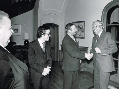 Denis Vaugeois, Bruxelles 1978