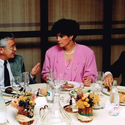 Lisa Frulla et Luc Lavoie, 24 juin 1992