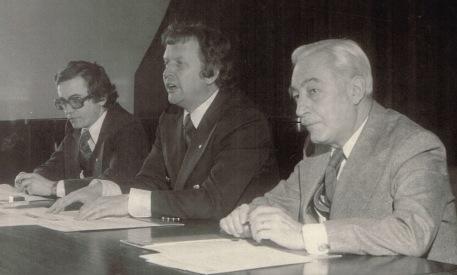 Jean-Paul L'Alliere et mon oncle, le juge Jacques Vadboncoeur, 1976