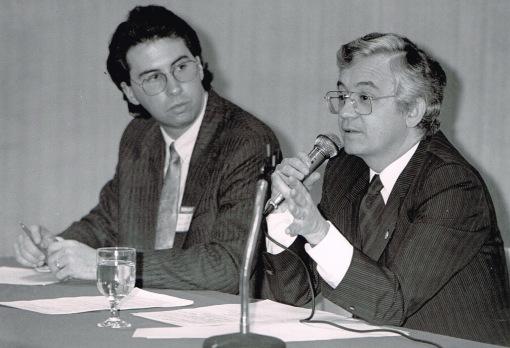 Patrick Doyon, secrétaire de comté, 1989