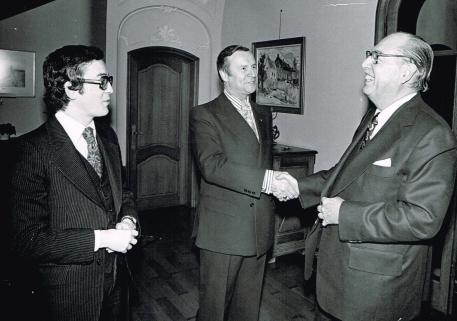 Pierre Tisseyre à Bruxelles 1978