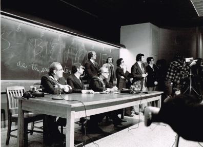Une assemblée mouvementée à Polytechnique, 1972