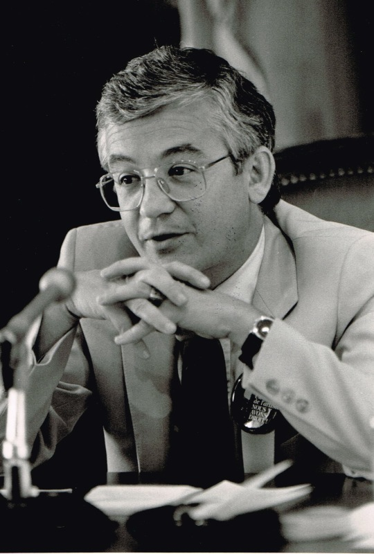 Président de la commission de la culture, 1986