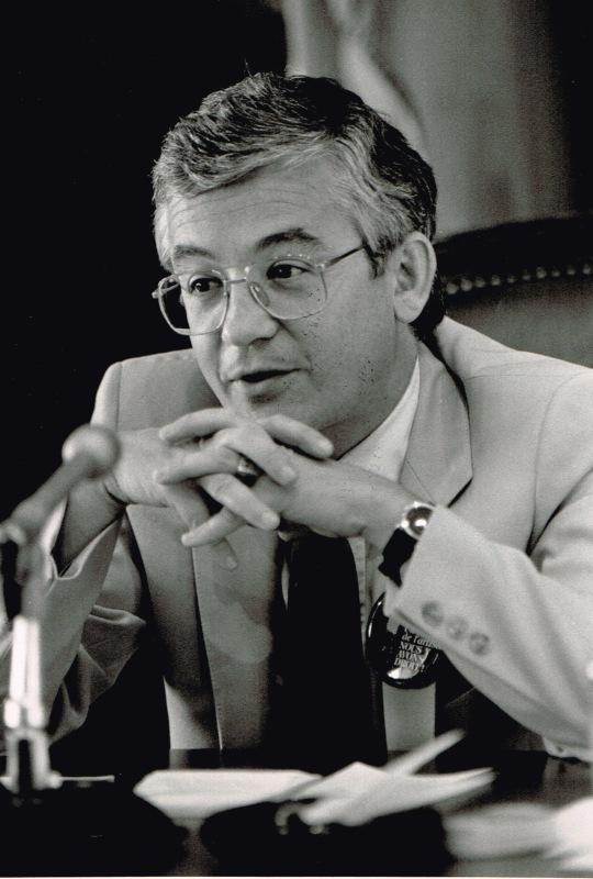 Président de la commission de la culture, 1986