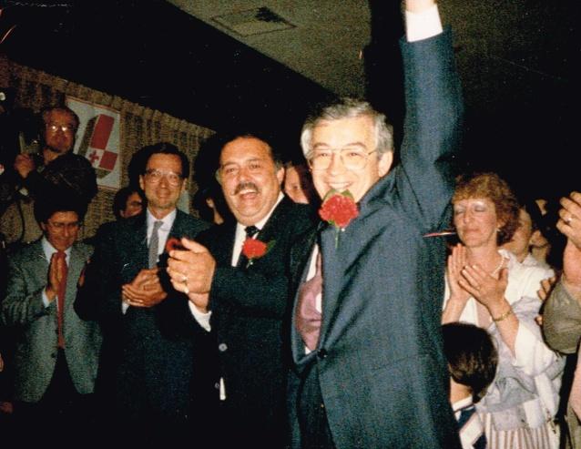 Célébrer sa victoire, 14 juin 1985