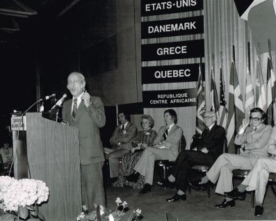 RenéLévesque inaugure le SILQ en 1978