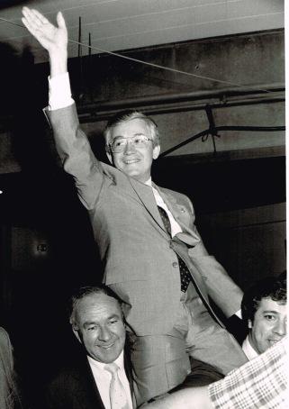 Victoire! Je deviens député libéral de Bourget