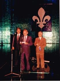 John Caccia et Luc Lavoie, journée du Québec 06 septembre 1992